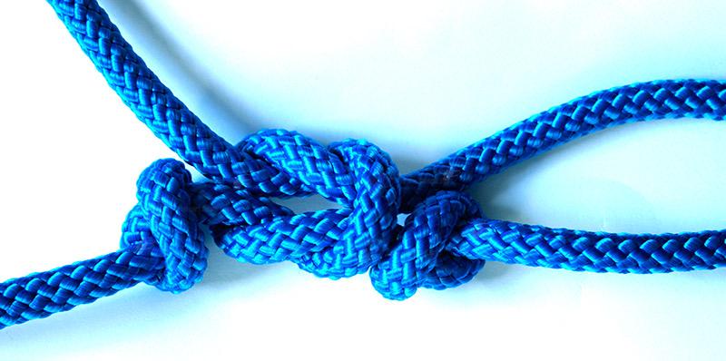 Knoten anleitung bondage Angelknoten richtig