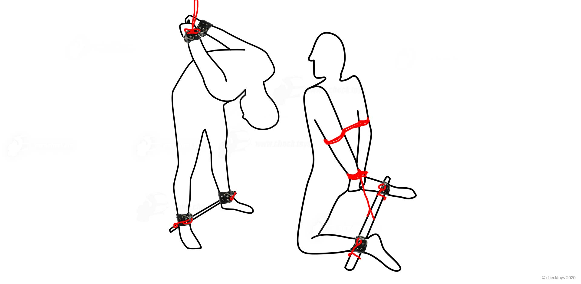 Bondage Positions And Methods